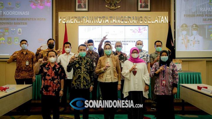 Tangerang Selatan Jadi Tuan Rumah Rakor PPID Se-Banten