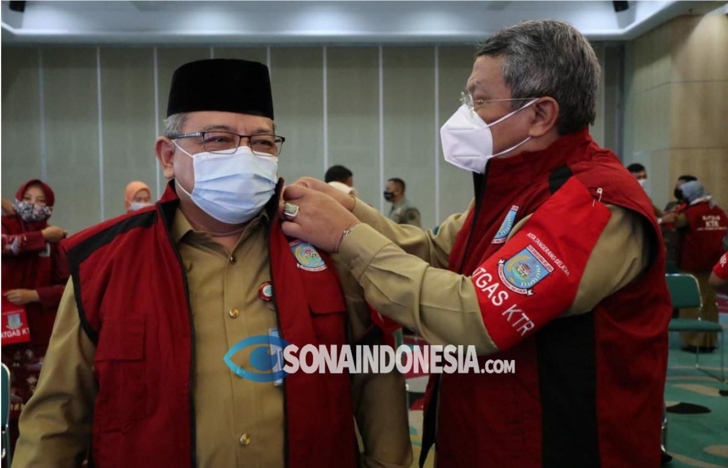Wakil WaliKota Tangerang Selatan Kukuhkan Satgas KTR Lindungi Warga Dari Asap Rokok