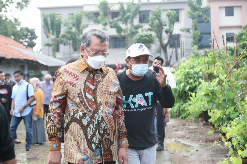 Pemkot Apreasisi Komunitas Anggur Di Tangerang Selatan
